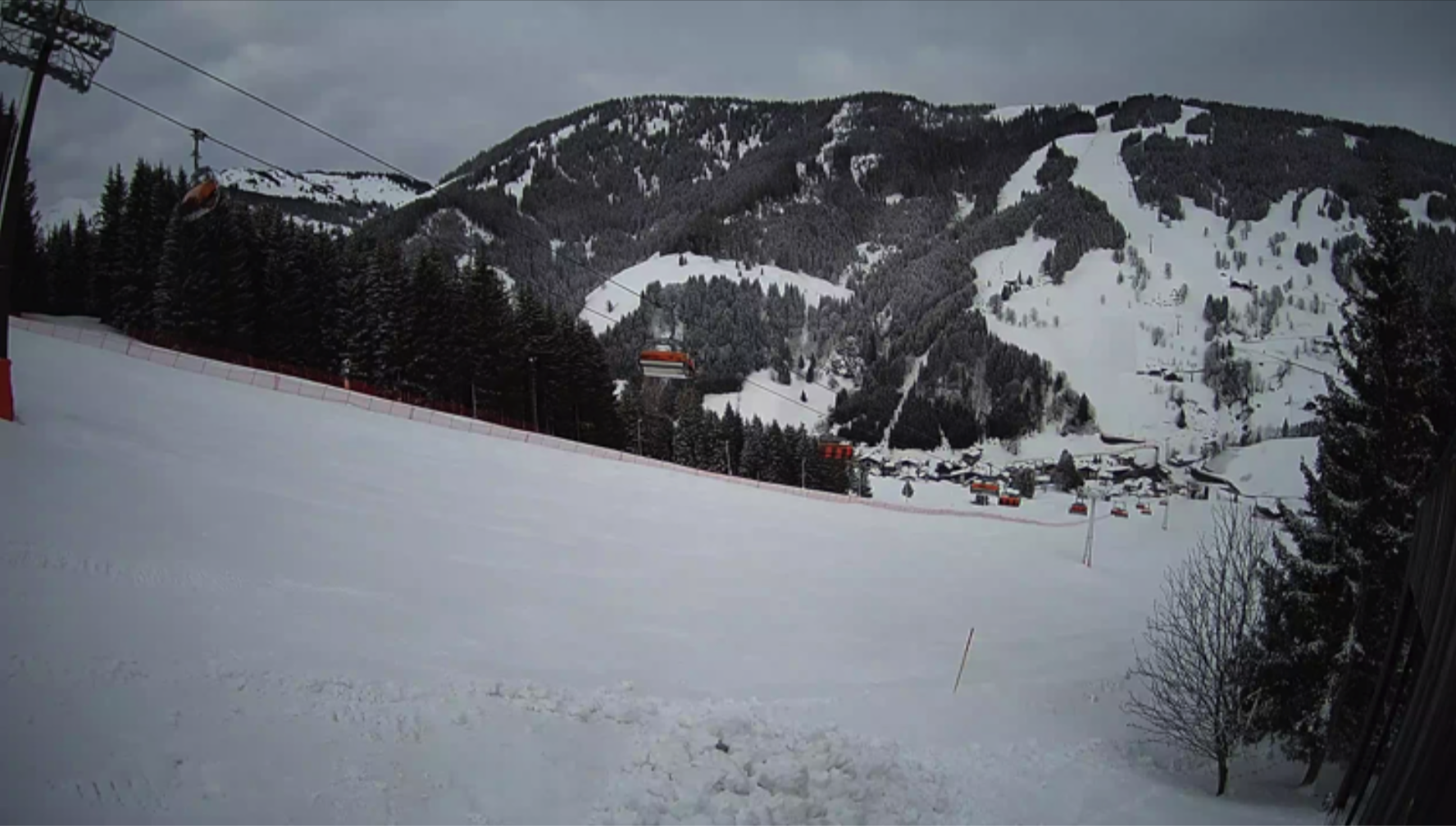 Blick der Webcam aus einem Live-Stream als Snapshot erzeugt.