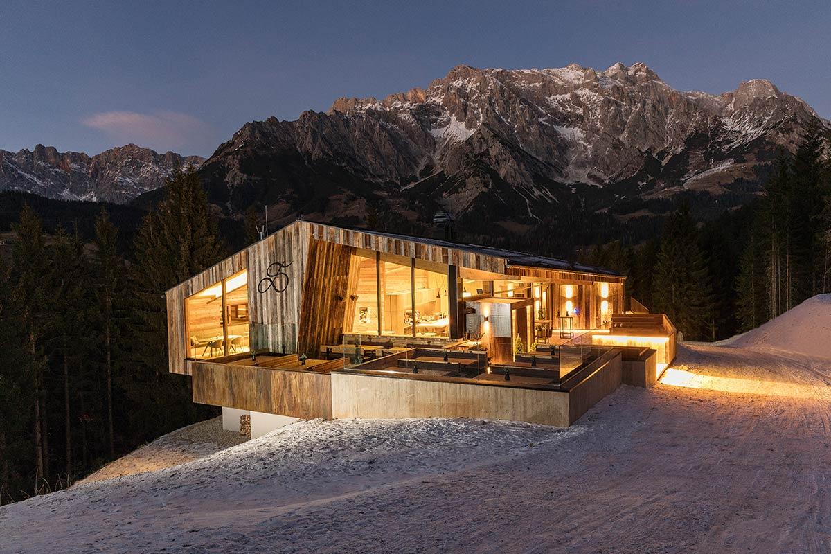 Livestreaming für Webcams in Österreich an einer Berghütte.