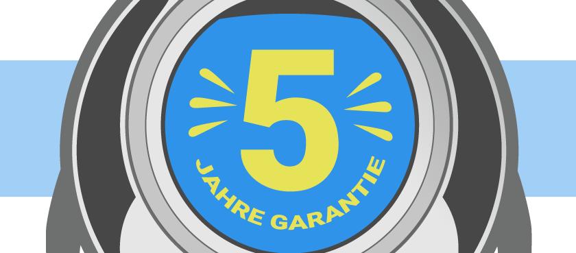 Garantieverlängerung auf 5 Jahre für statische und bewegliche Webcams.