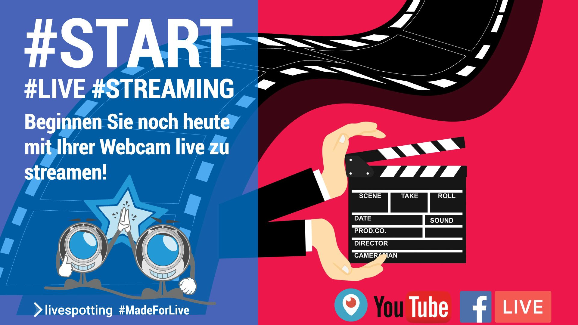 Wie beginne ich mit Live-Streaming?