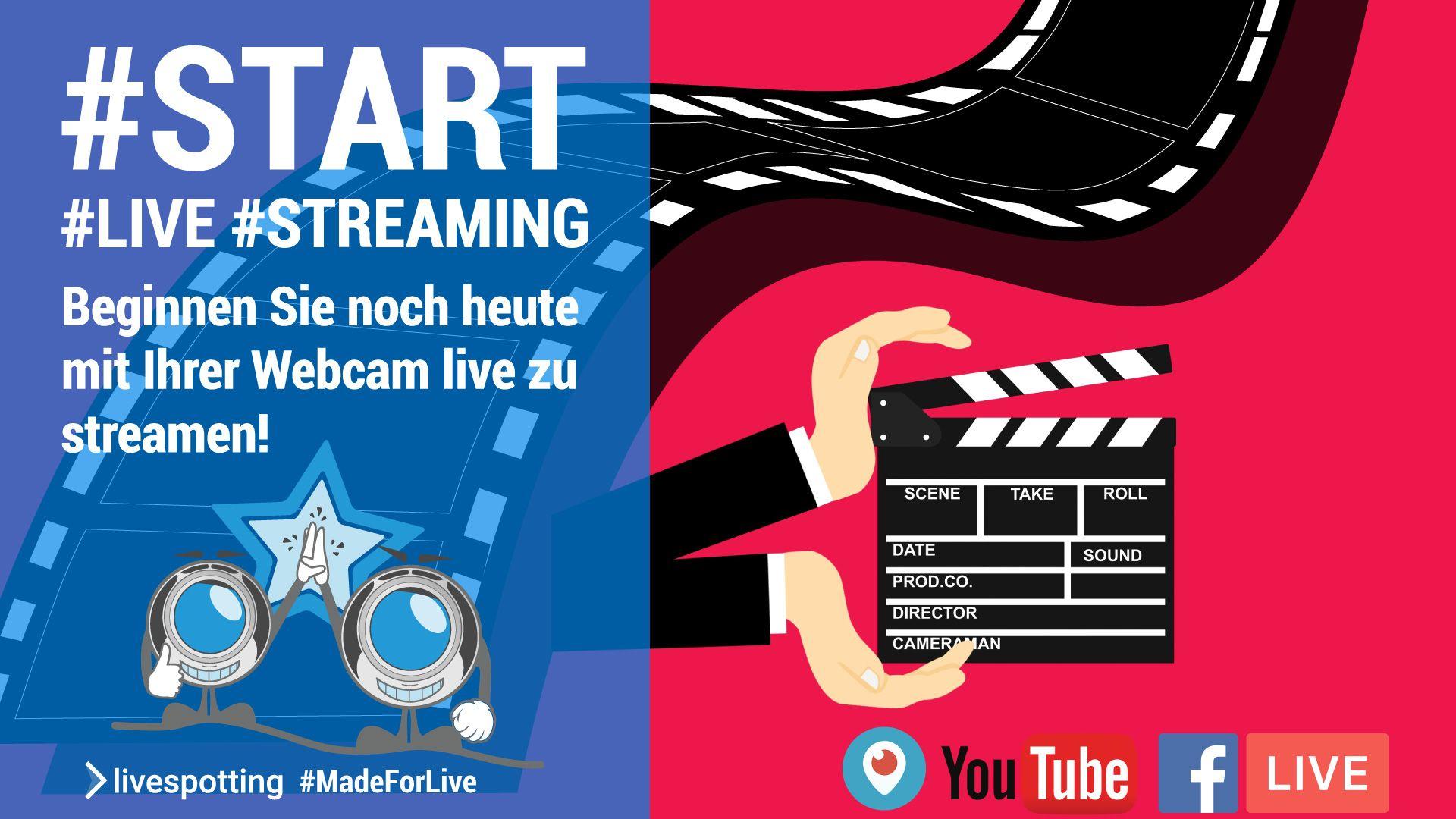 Wie beginne ich mit Live-Streaming?