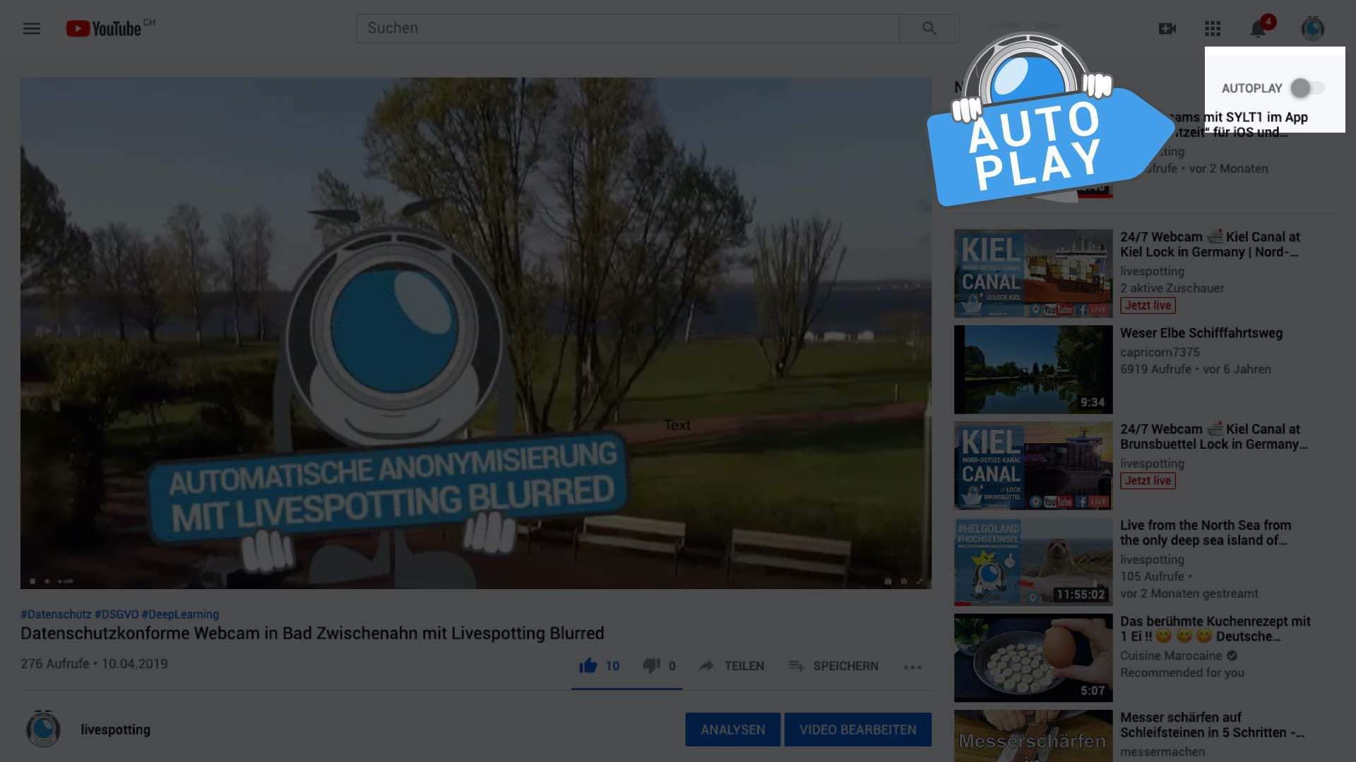 Multistreaming zu YouTube und Facebook ist in jedem Livestreaming Paket von livespotting enthalten.