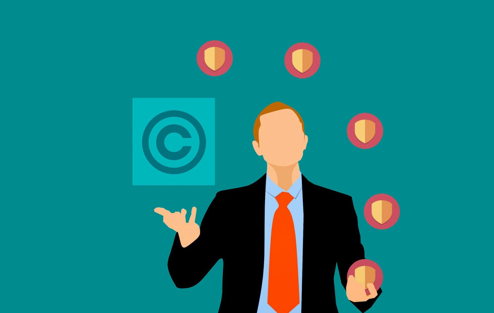 Der ultimative Guide mit Informationen über Copyrights für Webcams und LIvestreaming.