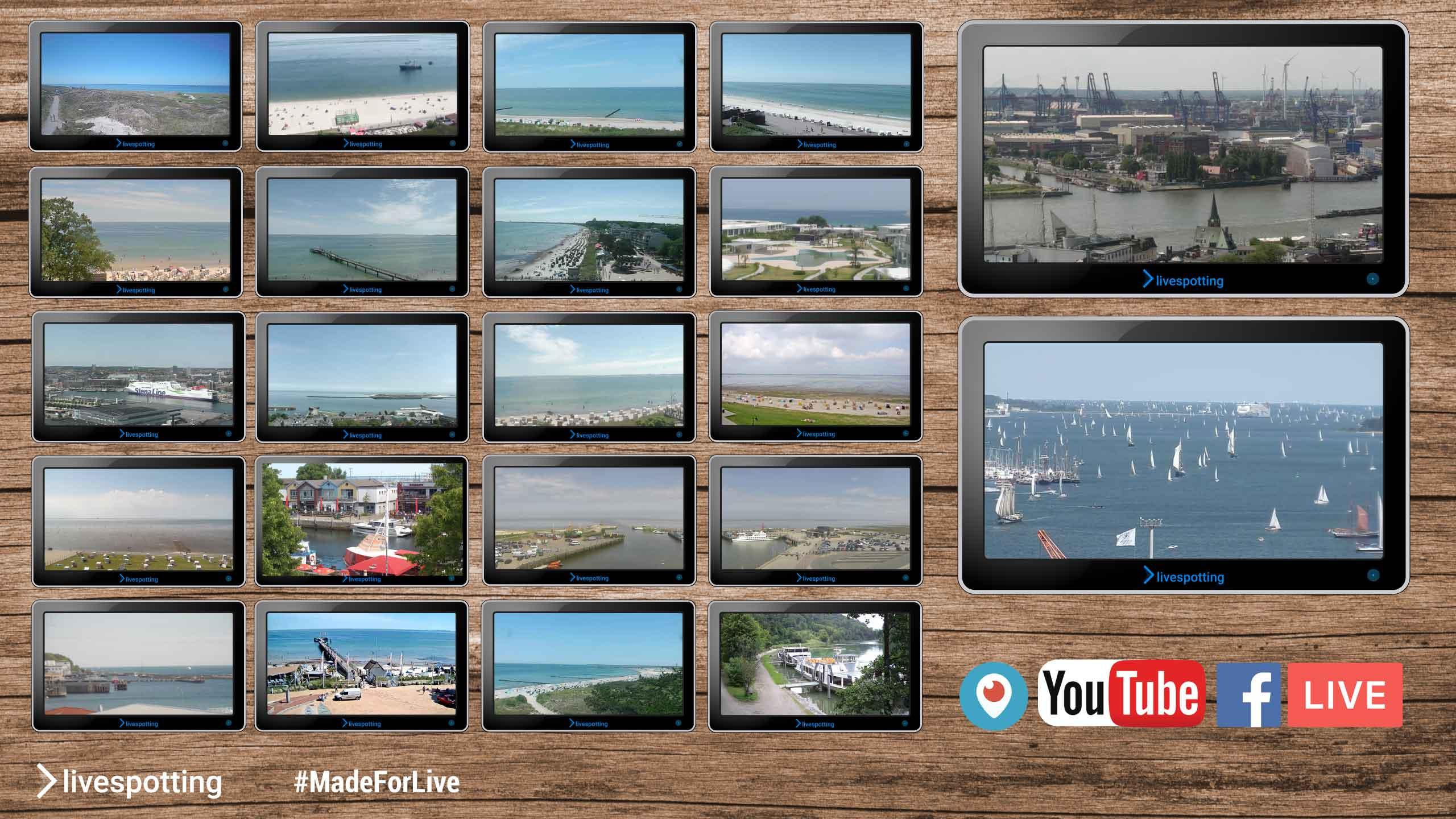Webcam Programm mit vielen Webcams aus Deutschland.