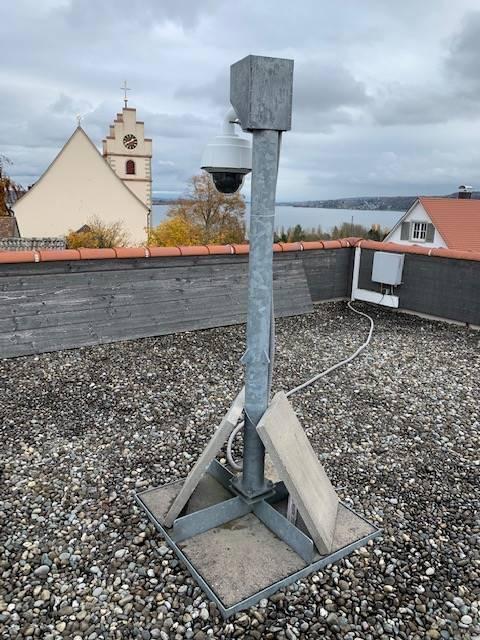 Beispiel des kostenlosen Dachständers von livespotting.