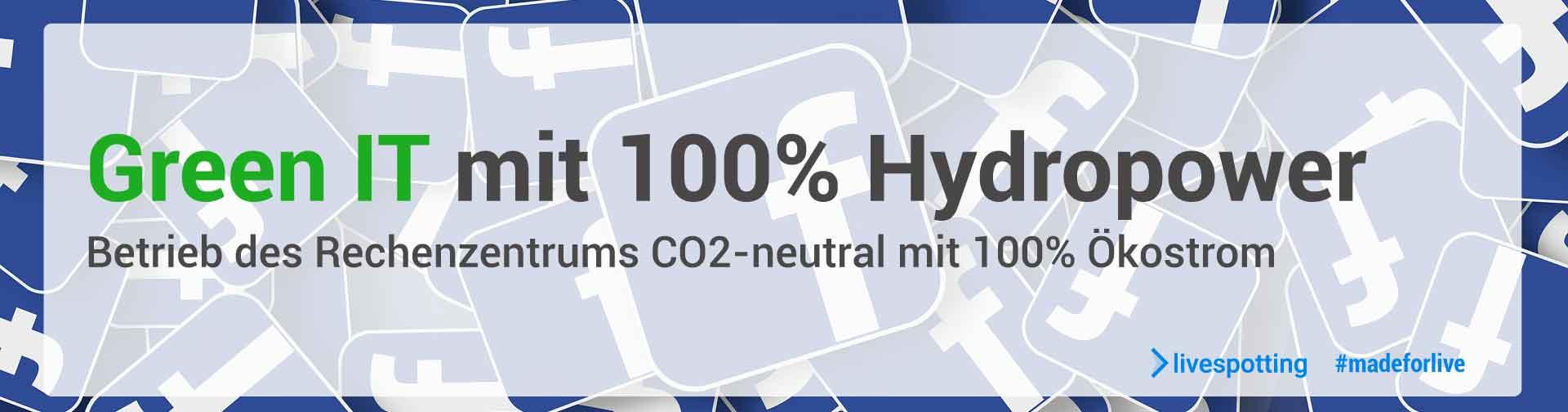 Wir tun was für die Umwelt und achten auf CO2 neutralität beim Live-Streaming von Webcams.