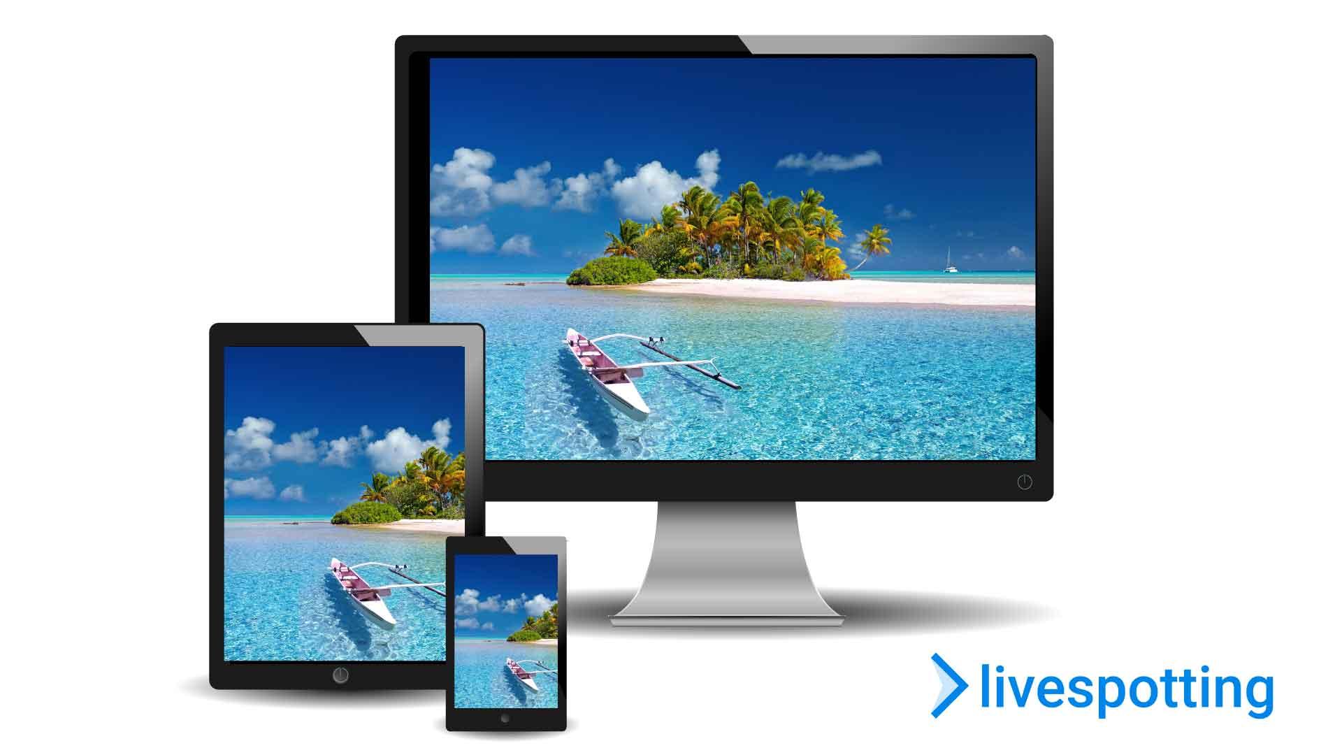 livespotting ist eine Videohosting Plattform für Onlinemarketing mit Webcams und Live-Streaming.