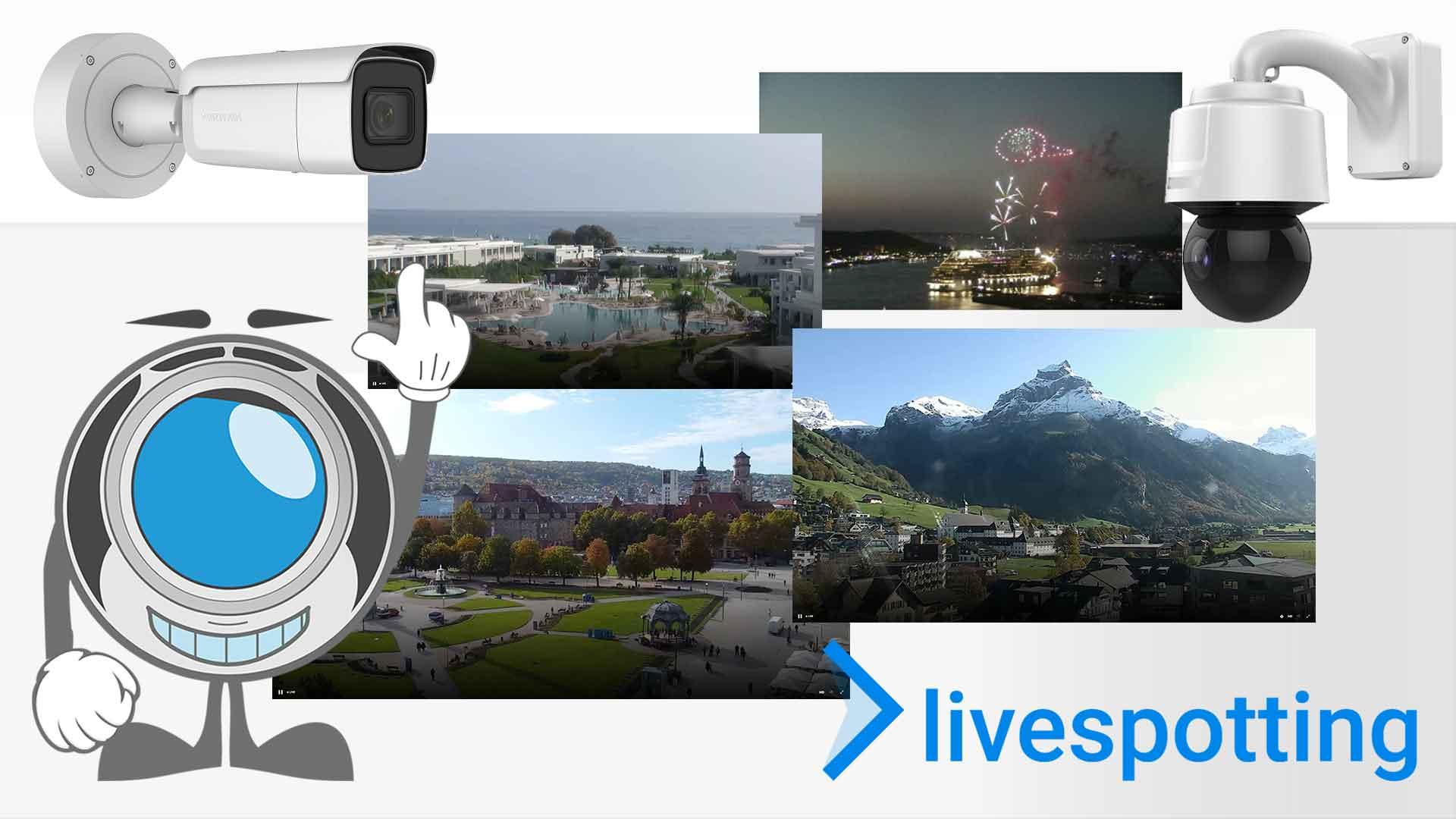 Wie vermarkte ich Webcams?