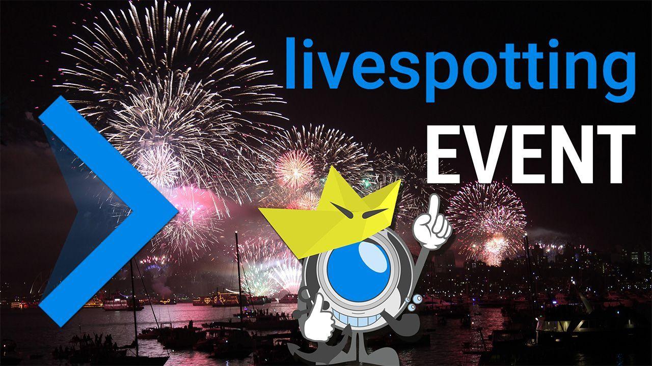 Veranstaltungen mit livespotting