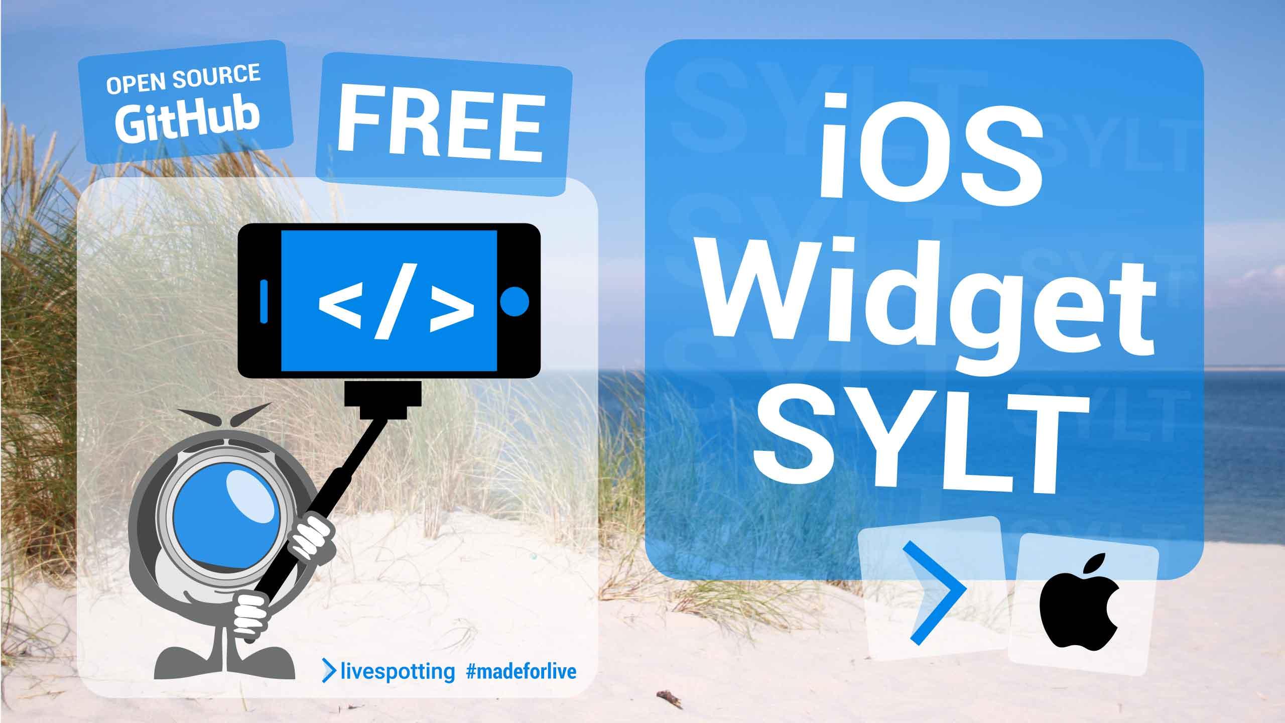 iOS Widget für livespotting Webcams von Sylt