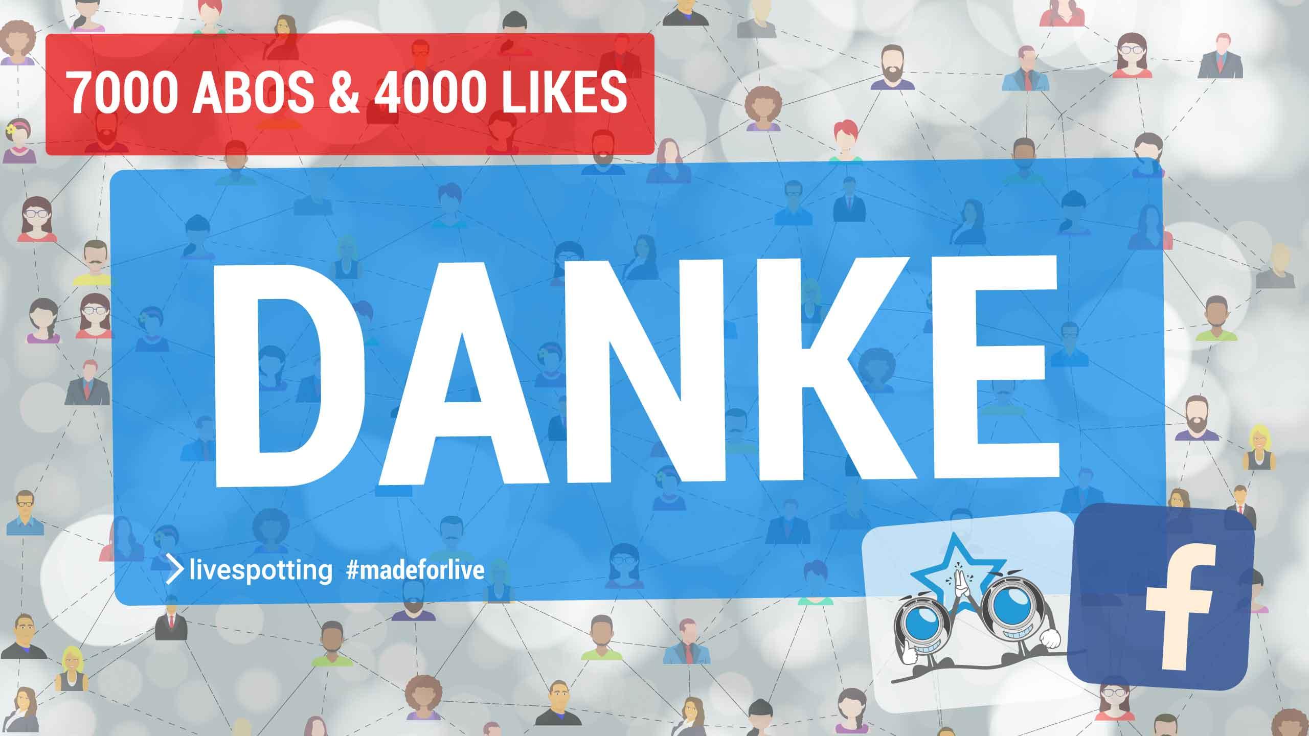 Wir haben über 11000 Facebook Fans und sagen Danke!