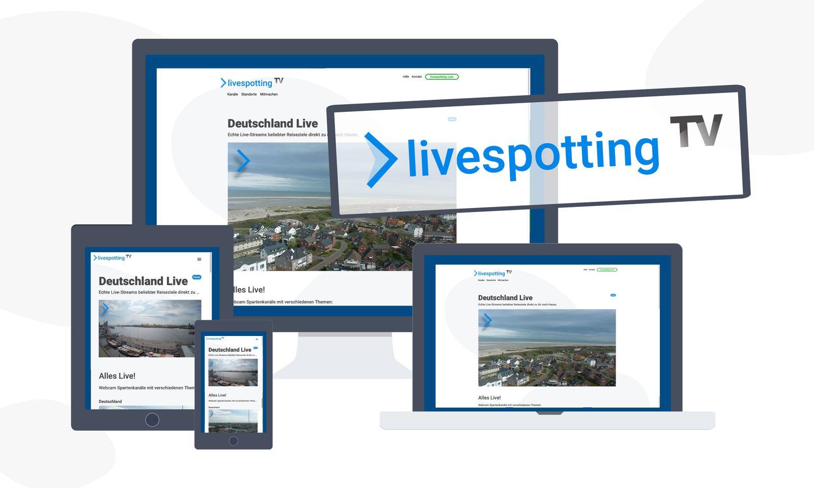 livespotting.tv für Zuschauende und Produzierende