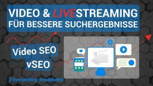 Video-SEO mit Webcams und Live-Streaming für bessere Suchergebnisse.