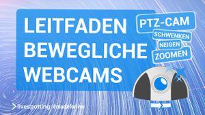 Der ultimative Leitfaden über PTZ-Cams beinhaltet alles Wissenswerte für das Live-Streaming mit beweglichen Webcams.