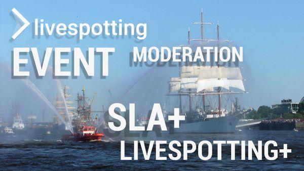 Fallstudie vom größten Hafenfest der Welt mit vielen Live-Streams.