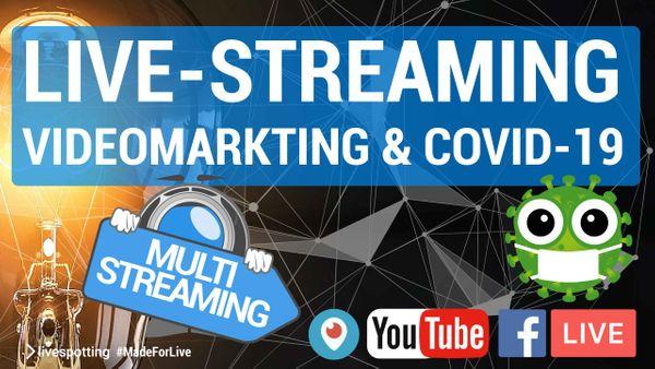 Live-Video boomt — Jetzt ist die beste Chance mit dem Live-Streaming zu starten.