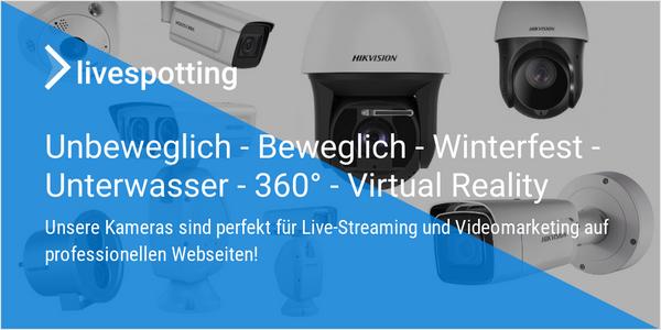 Ab sofort Livecams im Onlineshop über unseren Partner Cambuy kaufen!