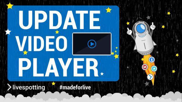 """Player Update mit vielen technische Neuerungen für Videoproduzenten steht unter dem Motto: """"Bye Bye iFrame - Hello Google!"""""""